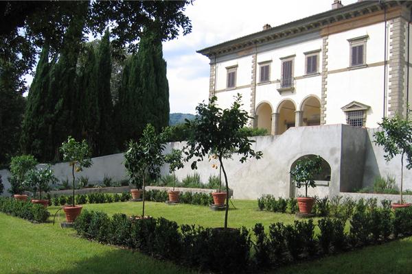 profilo 7 Parco della villa di Poggio Reale