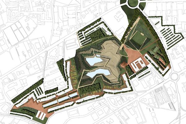 profilo 9 Parco delle Cave a Cagliari