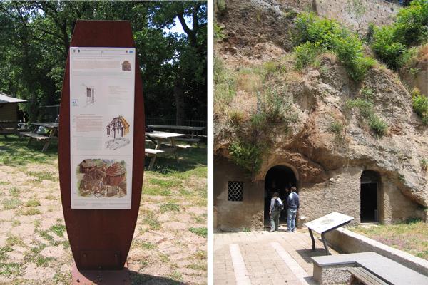 Museo archeologico all' aperto Alberto Manzi 11