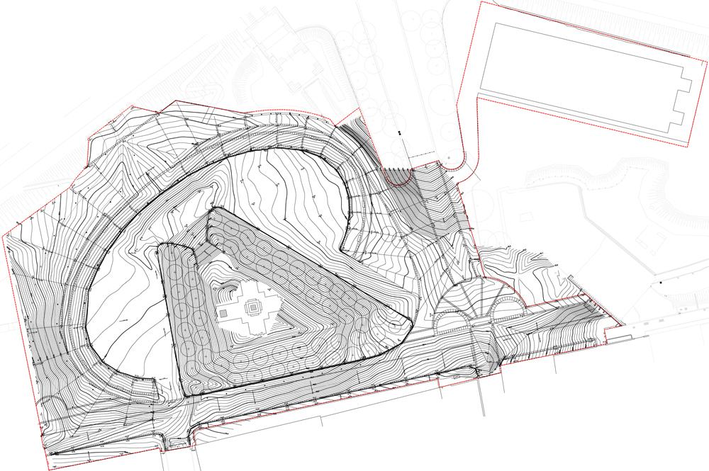Planimetria quotata di progetto